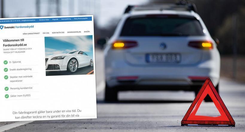 Svenskt Fordonsskydd placeras på Varningslistan