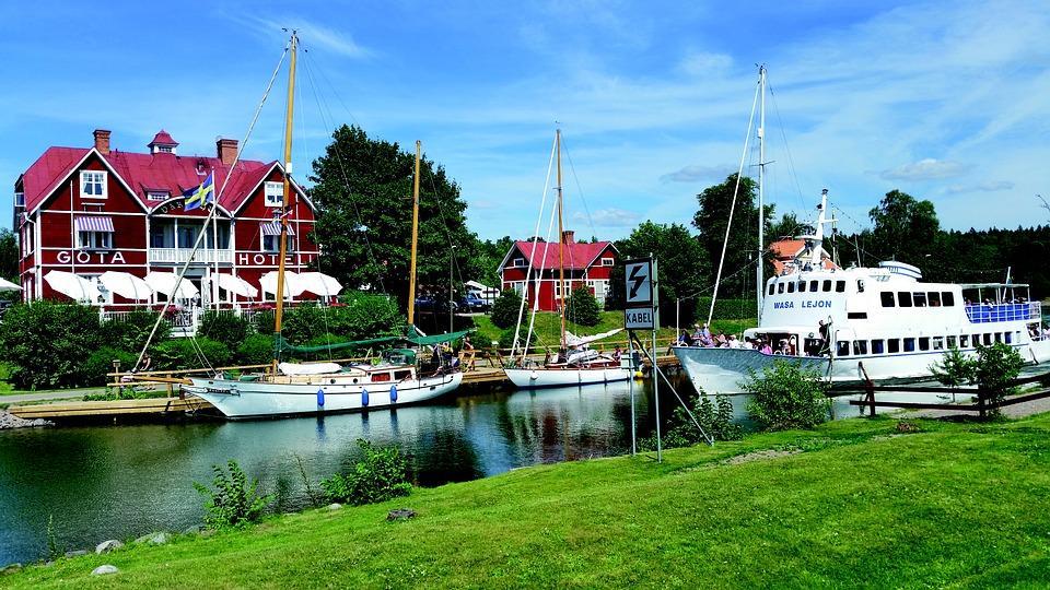 Fem semesterpärlor längs Göta kanal