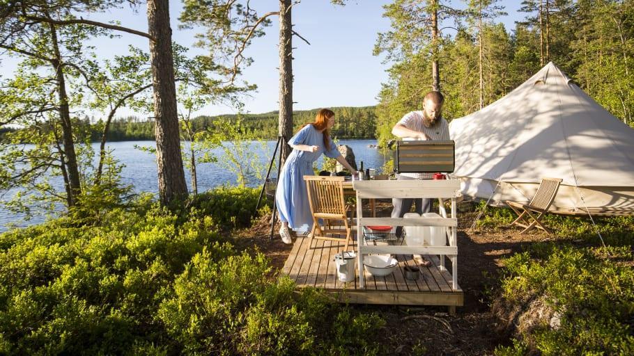 Visit Värmland slår ett slag för camping och glamping