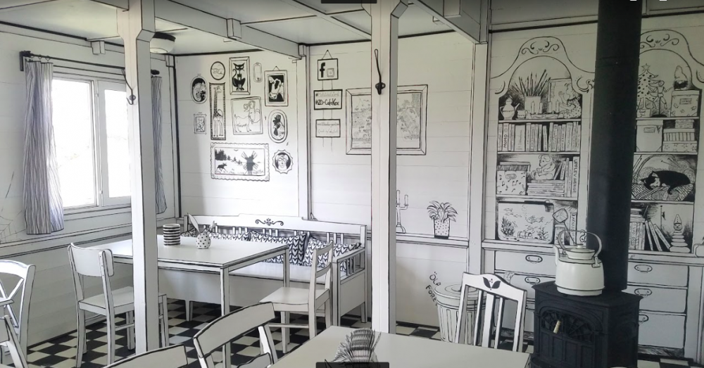 Sveriges första 2-D Café öppnas på Öland