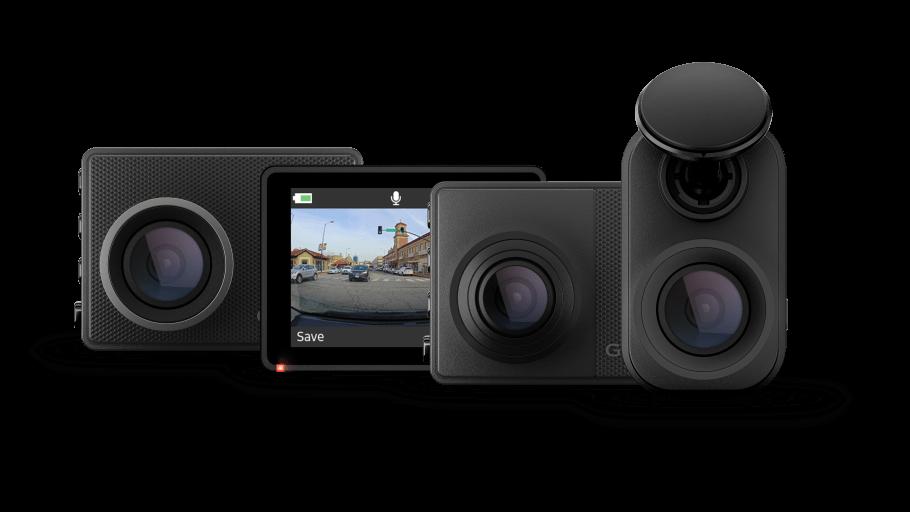 Garmin lanserar sina första uppkopplade dash cams