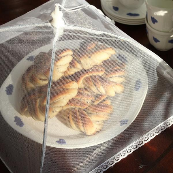 Håll getingar och flugor på avstånd med matparaply