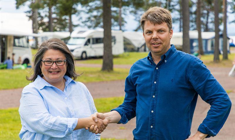 Grönklittsgruppen säljer Svenska Campingpärlor till First Camp
