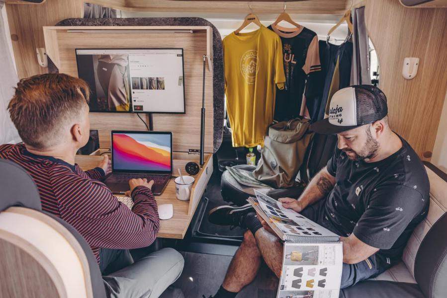 Sunlight kan komma med mobilt kontor i husbilen