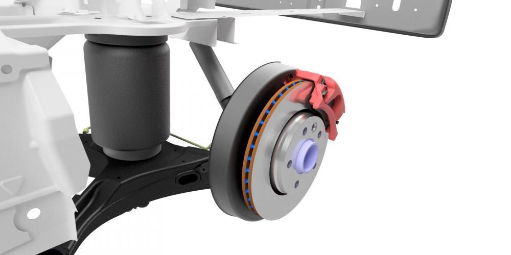 Goldschmitt visar upp nyutvecklat fjädringssystem för Ducato