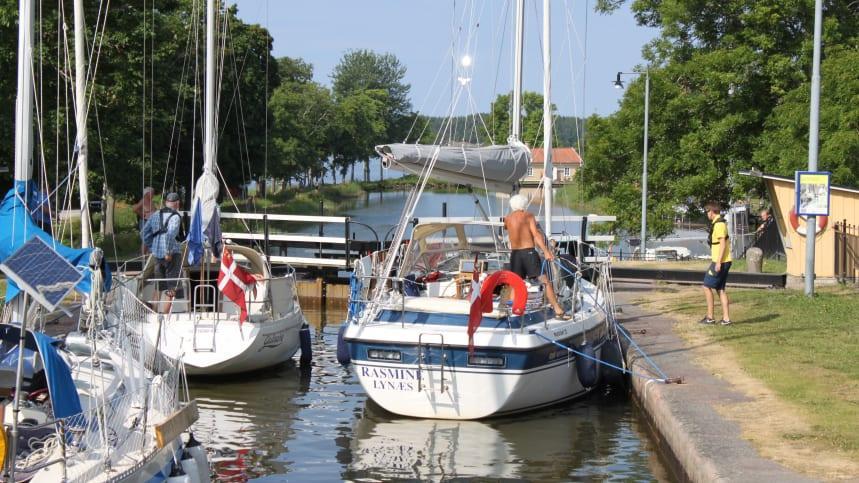 Här spelas Göta kanal 4 in i sommar
