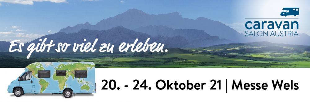 Caravan Salon Austria återupptas och hålls 20 till 24 oktober