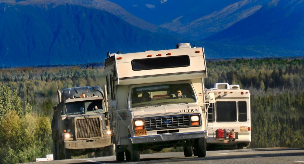Äventyr längs Alaskas highways