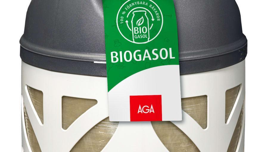 Klimatsmart att använda biogasol