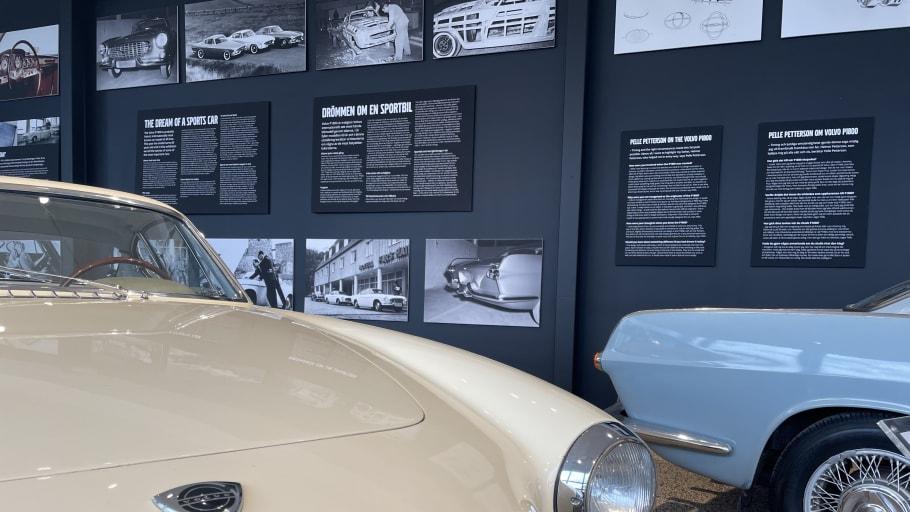 Volvo P1800 fyller 60 år och ställs ut på Volvo Museum