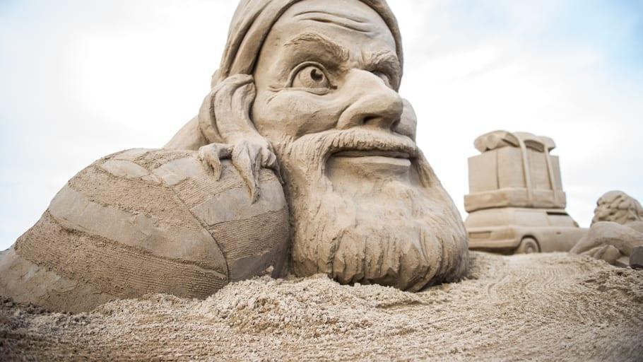 Snart dags för sandskulpturfestival!