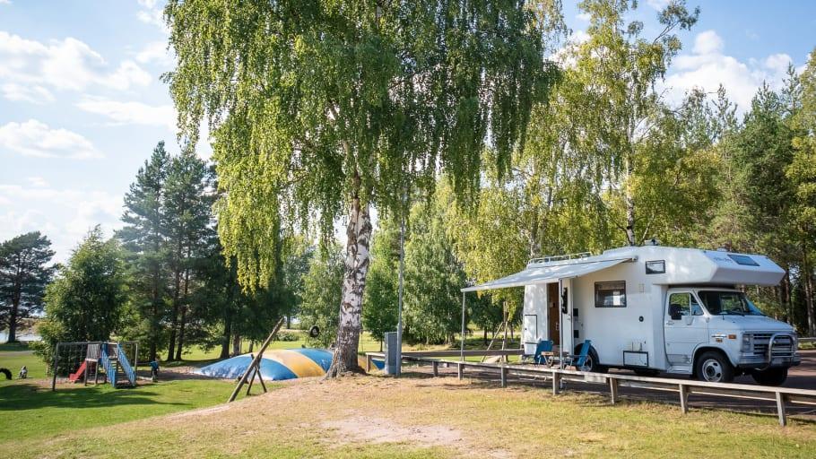 Starkt bokningsläge för campingarna i Dalarna