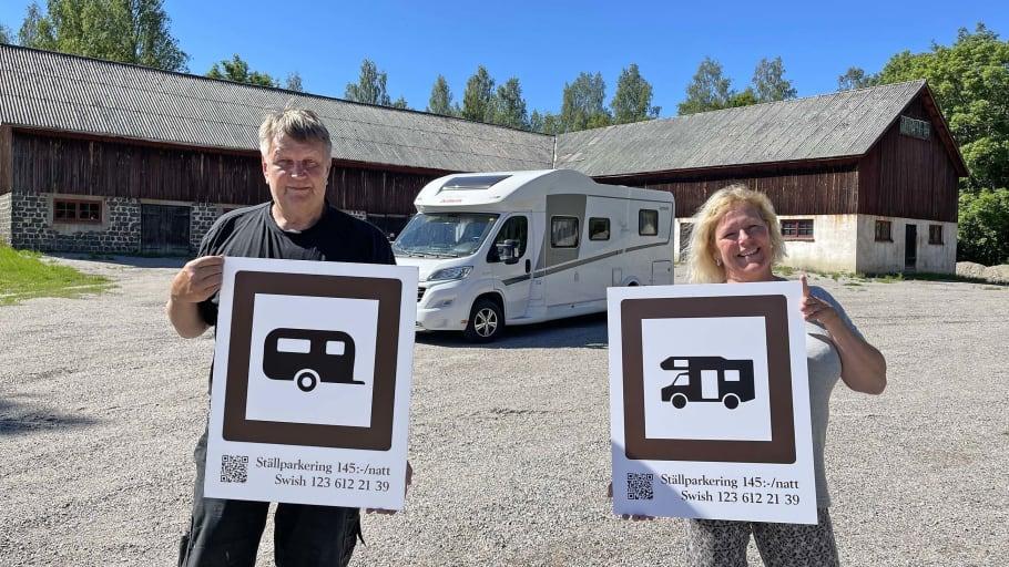 Husvagnar välkomnas till Axmar bruk