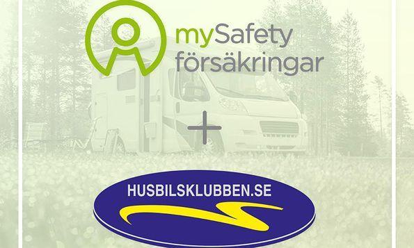 Husbilsklubben inleder samarbete om försäkring