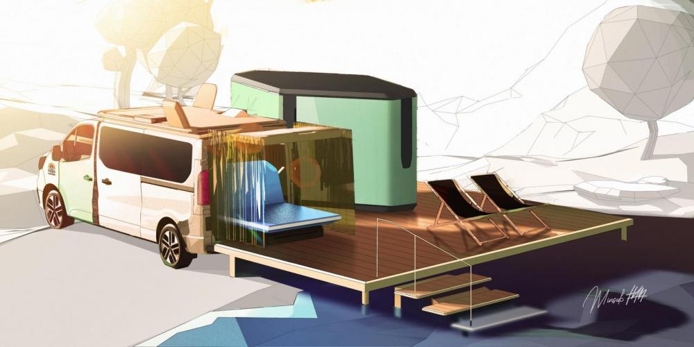 Hippie Caviar Hotel, ett udda koncept från Renault
