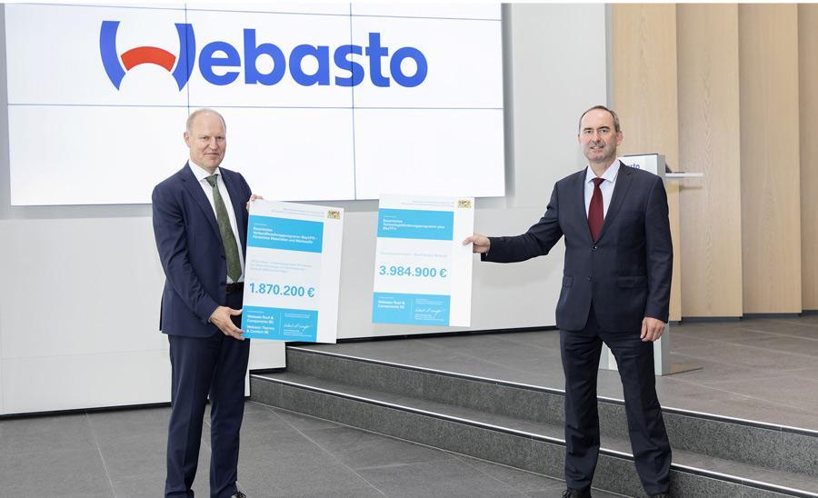 Webasto får 6 miljoner euro i utvecklingsstöd av Bayern