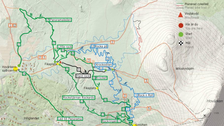 Nya cykelleder i Lofsdalen
