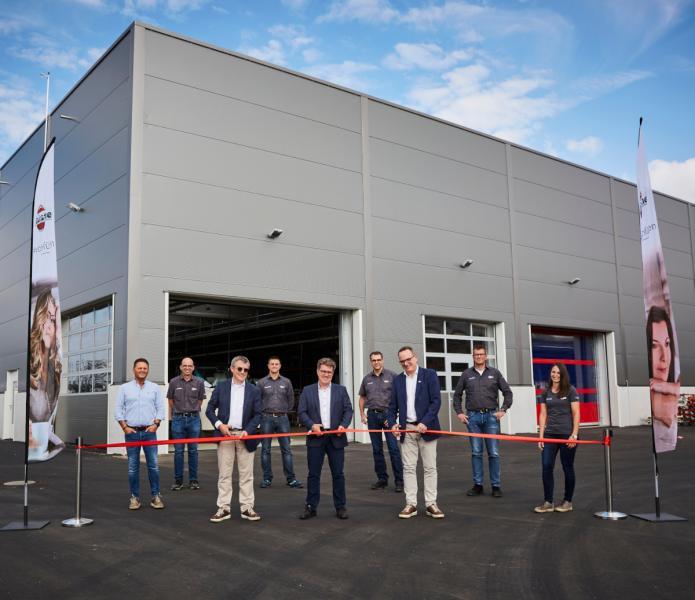 Bürstners nya anläggning i Kehl invigd