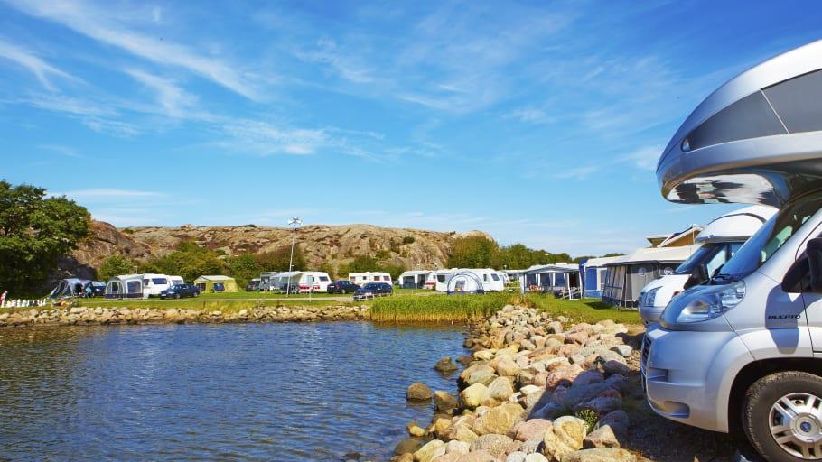 Juli blev rekordmånad för camping