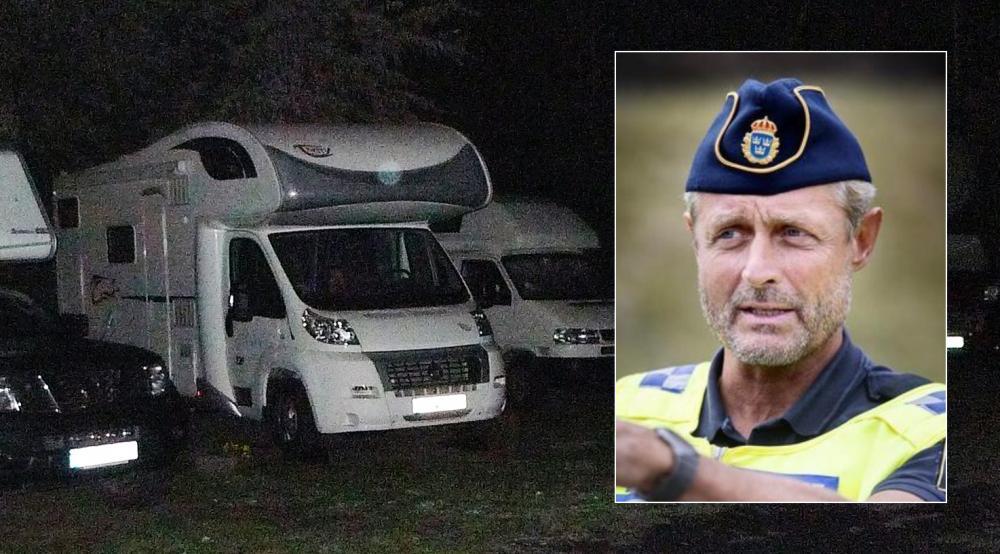 Polisen Christer Fuxborg drabbades själv av inbrott i sin gamla husbil.