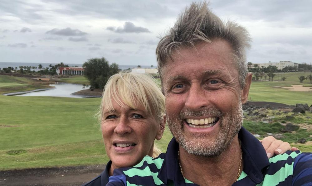 Christer och hans fru Lena har haft husbil sedan 1982 och är inne på sin sjätte modell.