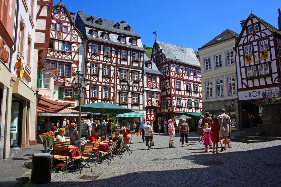 På resa genom Tysklands mest genuina arkitektur