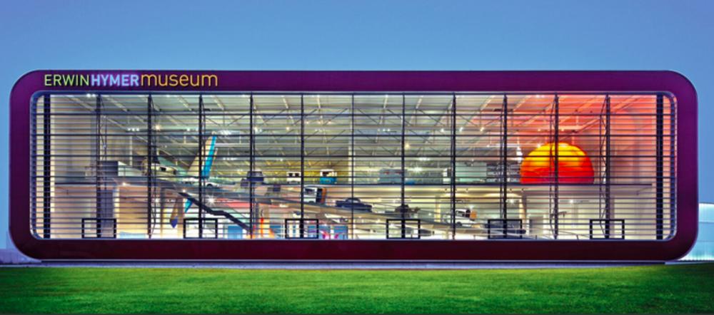 Erwin Hymer Museum är vida känt för sin futuristiska arkitektur. Nu ber Hymer politikerna att snabbt ta beslut för att framtidens husbilar ska kunna ta ett tekniksprång.