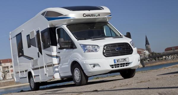 Chausson Welcome 718 EB är först ut på nya chassit från Ford Transit