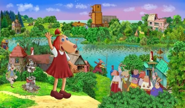 Lotte är lika populär i Estland som vår Pippi i Sverige. Låt barnen njuta en dag i parken!