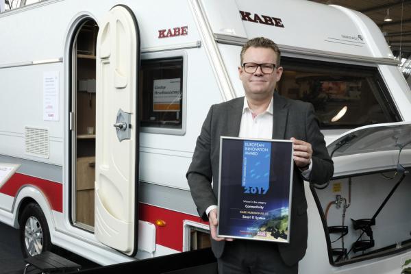 Joakim Karlsson från Kabe är nöjd.