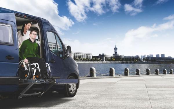 Womondo Agilo är en standardbyggd husbil för dig som behöver en bil anpassad för rörelsehindrade.
