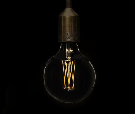 Elect, den nya LED lampor framtagen för att ersätta glödtrådslampor. Finns även med spiralformad LED filament.
