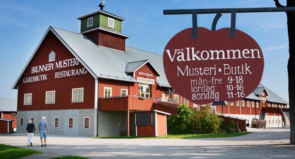 Faluröda Brunneby Musteri där det har förädlats frukt och bär sedan 1941.