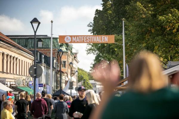Matfestivalen i Skövde firar 30-årsjublieum 2019.