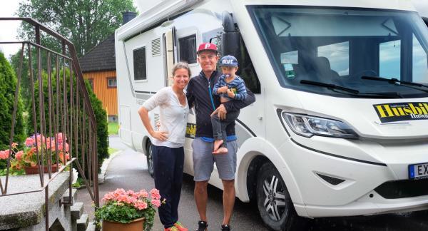 Med bakgrund som seglare tyckte familjen Wassén att husbilen innebar rejält med utrymme för sin semester.