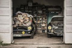 Otroligt bilfynd i Frankrike