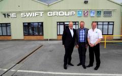 Fabriksbesök hos Swift