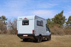 Woelcke Autark Crosser Compact, 5,3 meter delintegrerad på VW-T6