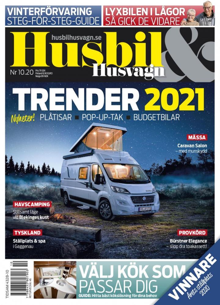 Guide: Vinterförvara ditt förtält | Husbil & Husvagn
