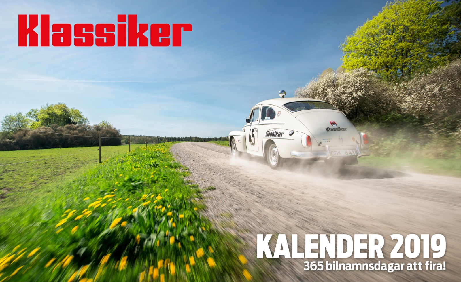 Kalendern som följer med Klassiker 1/2019 kan även beställas separat. https://shop.motorvarlden.se/product/klassikers-kalender-2019