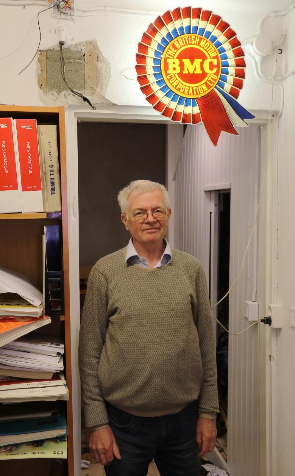 Efter årsskiftet går Thomas Brandt i pension - men skylten tar han inte ner! Just nu pågår utförsäljning av kvarvarande delar med upp till 50 procents rabatt!