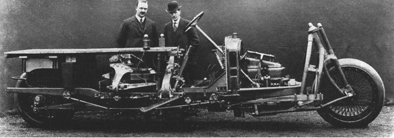 Grevens gyroskopiska bil