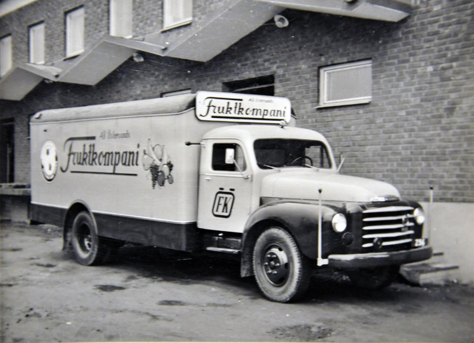 Östersund Fruktcompani kör Volvo.