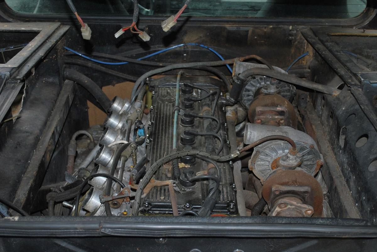 Den 3,5-liters stora M88/1-motorn trimmades upp från 277 till runt 410 hästkrafter.