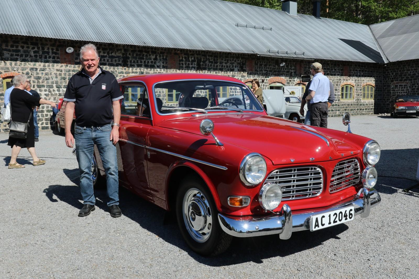 På bara två år har Curt Edvinsson genomfört en mycket fin renovering av sin Volvo Amazon 123 GT 1967. Han fick ett av juryns tre priser.