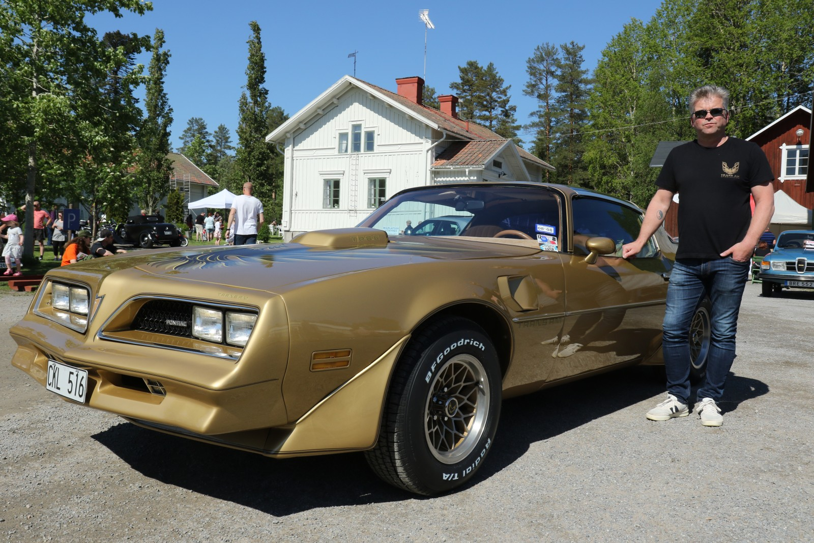 Utan inbördes ordning vann Ingemar Forsgren det tredje av juryns priser för sin Pontiac TransAm 1978.