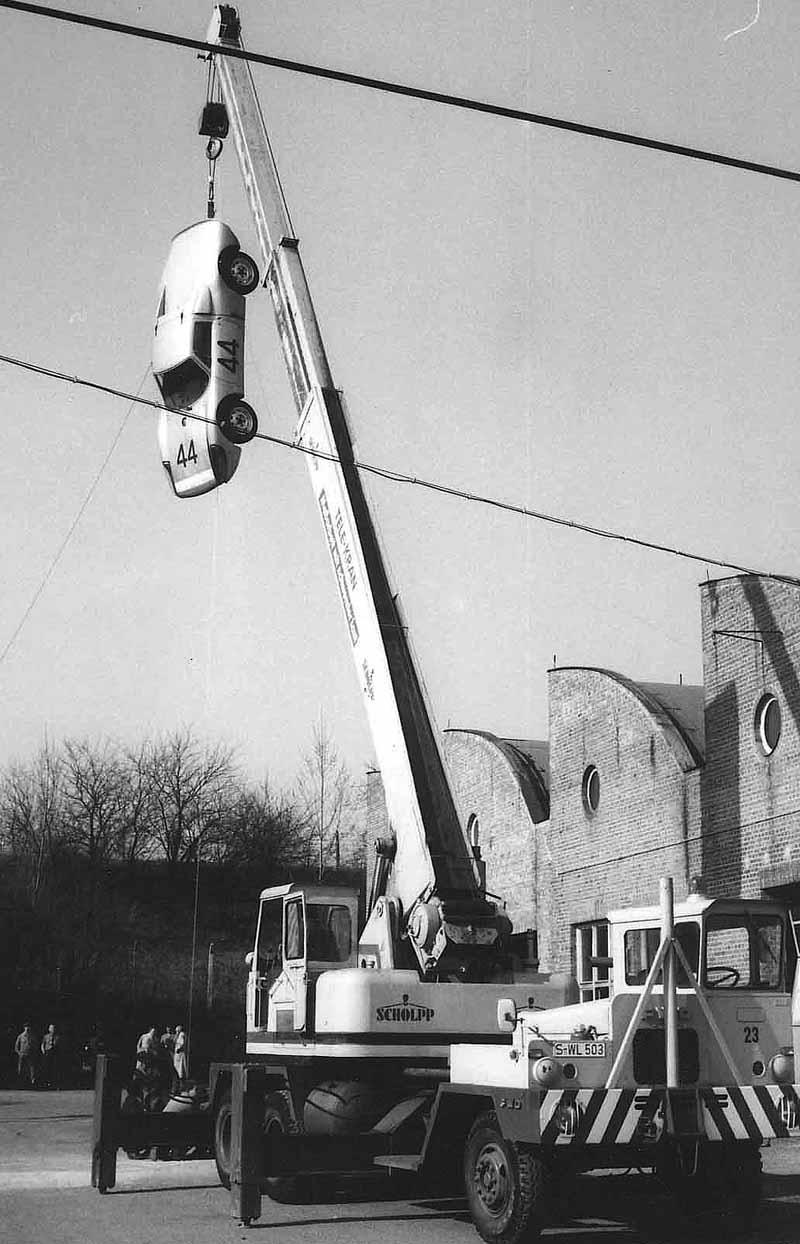 Ett krocktest 1964
