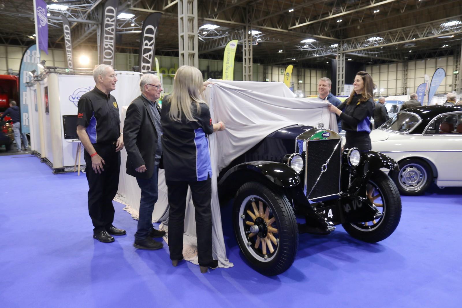Englands äldsta Volvo!