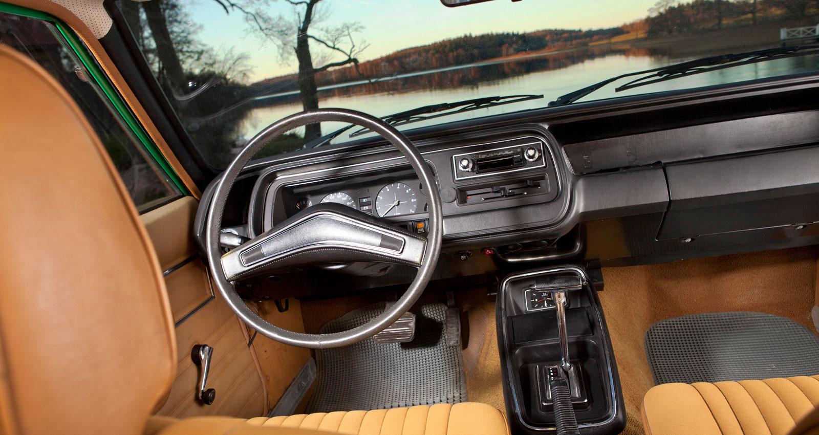 Utrustningsnivåerna var många i Granada. I GL var varvräknare standard men ville man ha fuskträ fick det bli Ghia-varianten.