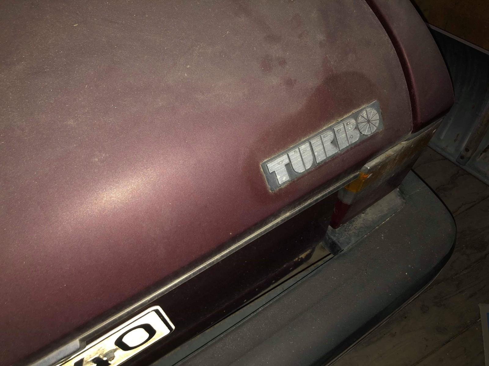 Saab 99 Turbo ladufynd på auktion!